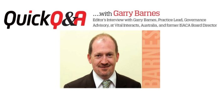 Quick Q&A with Garry Barnes