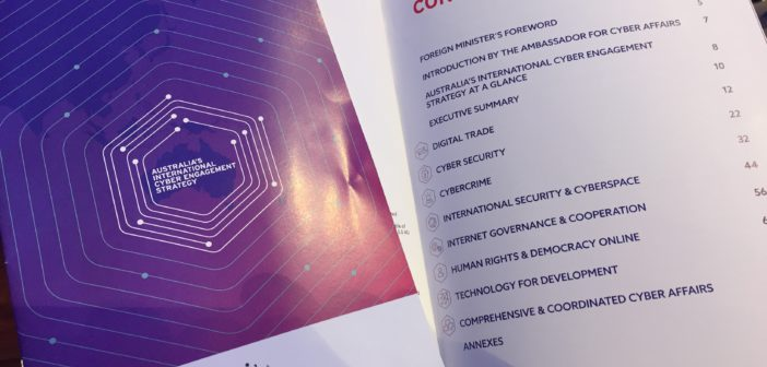 Australia's International Cyber Engagement Strategy launched