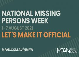 National Missing Persons Week